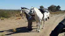 El cuerpo fue encontrado por un baqueano a caballo.