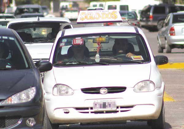 La comuna pide identificar a taxistas