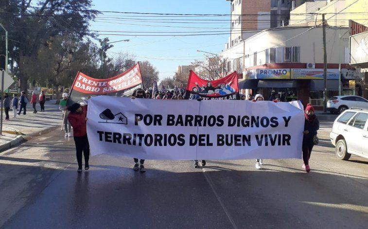 El Frente Santillán inició un plan de lucha por el acceso a la tierra