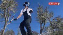 cipoleno va a competir en los juegos universitarios de esqui
