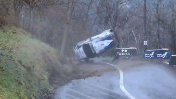 Suninen protagonizó un accidente que desató la bronca de todo el M-Sport