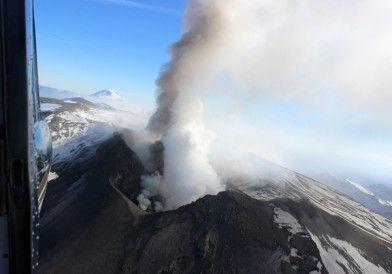 Continúa el alerta máxima por el volcán Copahue