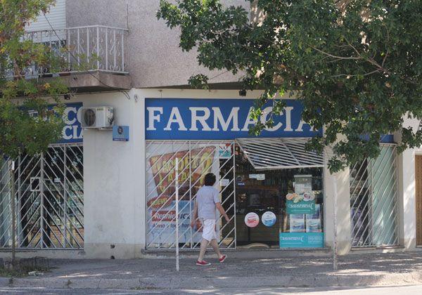 Robaron en una farmacia