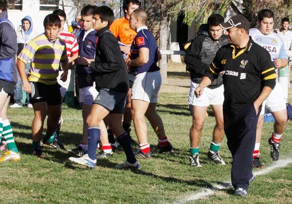 El turno de los juveniles de rugby