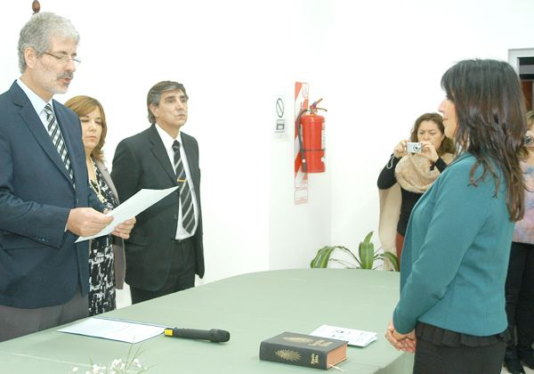 Favot y Palacios asumieron flamantes cargos