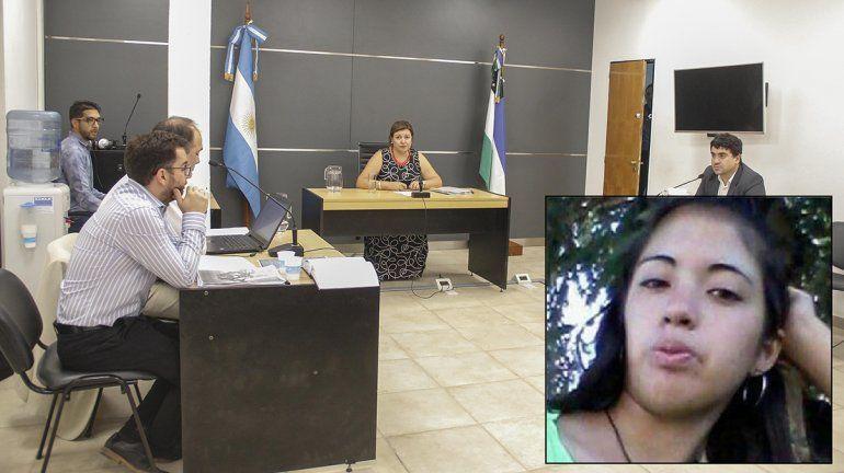Avanza la acusación contra Rebolledo por el femicidio de Agustina Atencio