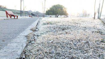 llego el frio polar a la region: la manana arranco con -5 grados