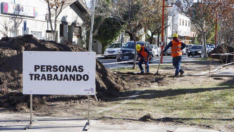 Vecinos mantendrán el bloqueo en la obra de la ciclovía de Alem