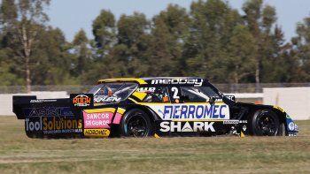 Juan Cruz Benvenuti y José Manuel Urcera debieron abandonar en la final del TC en La Plata. La victoria fue para Agustín Canapino.