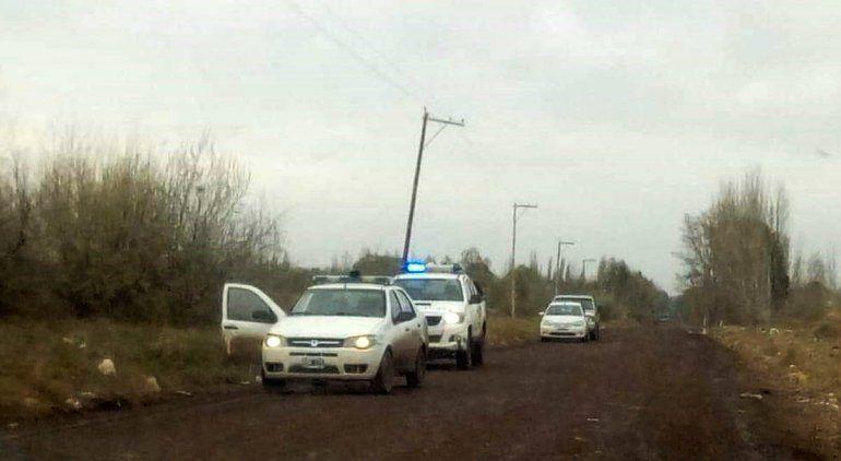 La Policía resguarda tierras por amenaza de usurpación