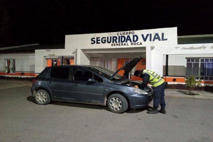 Encontraron un auto robado con documentación apócrifa