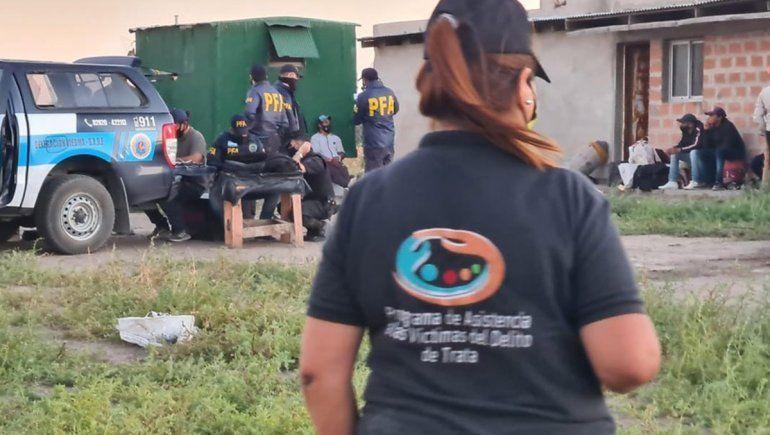 Río Negro colaboró con el rescate de personas en situación de trata