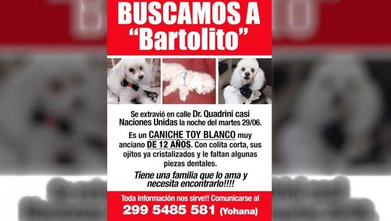 Ofrecen recompensa para encontrar a Bartolito