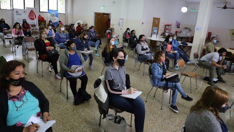 Comenzó la capacitación COVID-19 para docentes cipoleños