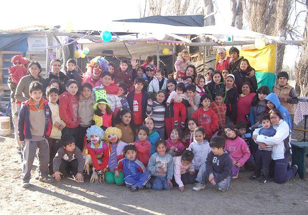 Se festejó el Día del Niño en la Isla Jordán