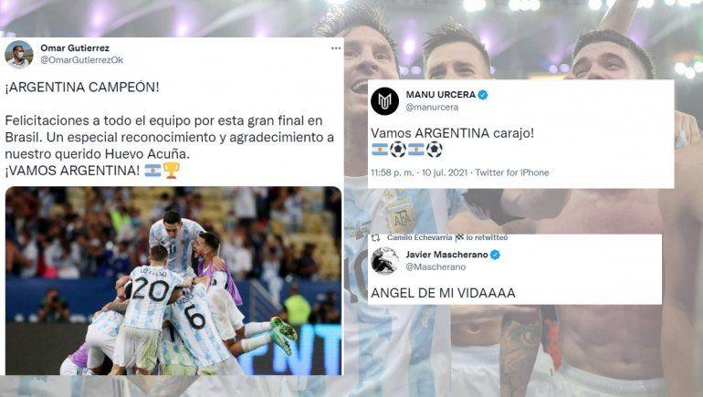 De Urcera a Gutiérrez, la alegría regional por la Selección