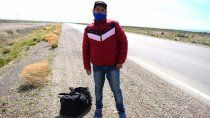 Gustavo, el caminante salteño