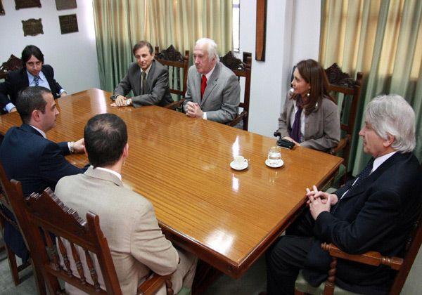 Larreguy se reunió con miembros del STJ