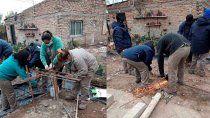 barrio obrero: marchan trabajos y acciones financiadas por el bid