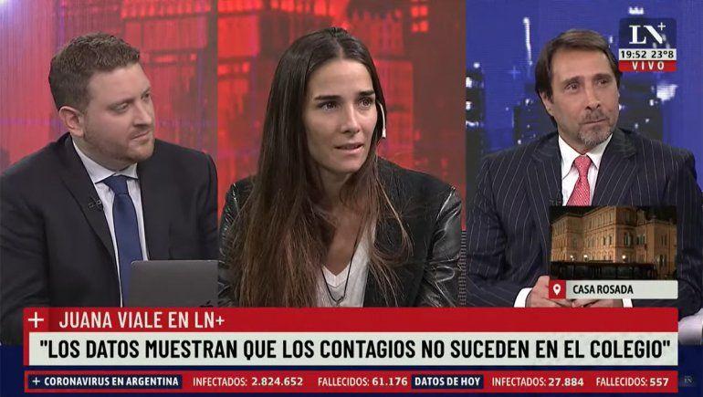 La frase de Juana Viale en el Pase que desató críticas, burlas y memes en Twitter