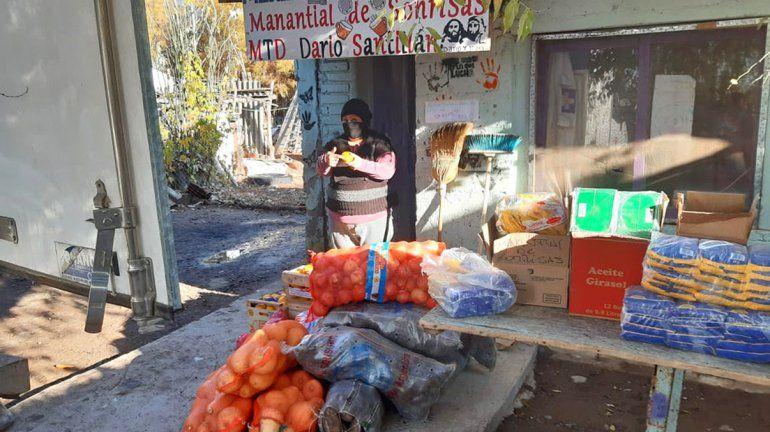 El Municipio invirtió más de $18 millones en alimentos para comedores y merenderos