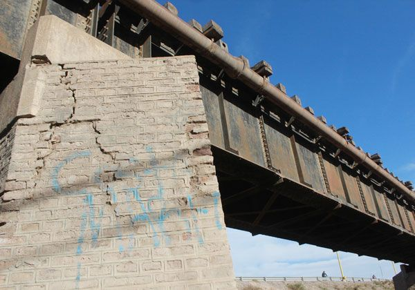 Denunciaron fallas en el puente ferroviario