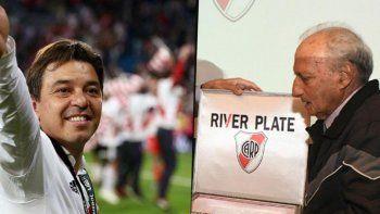 Marcelo Gallardo recordó con afecto al gran formador.
