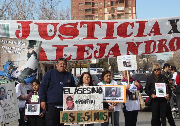 Los familiares de Alejandro Verdugo denunciaron amenazas
