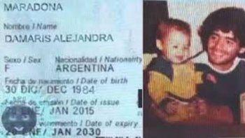 ¿Y Dalma? ¿y Diego Junior? Mujer asegura ser la primogénita de Maradona