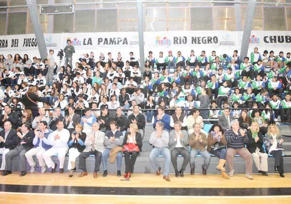 Con ausencias, inauguraron los Juegos Epade en La Pampa
