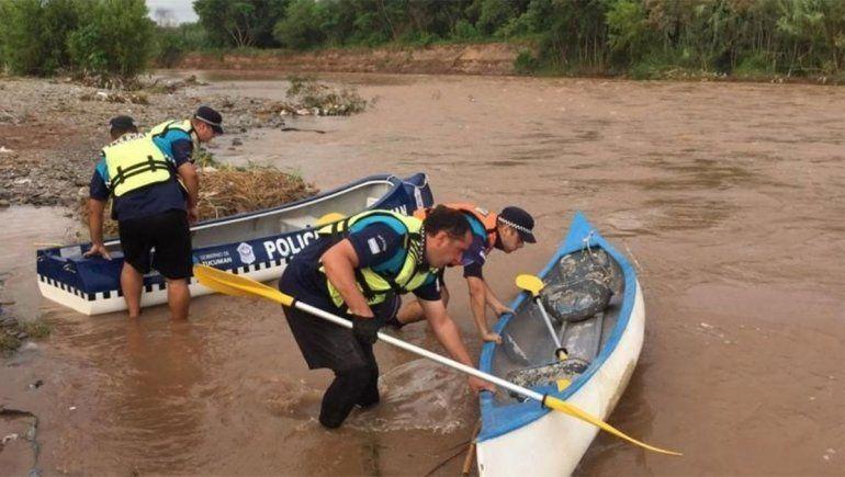 Encontraron el cuerpo de un nene en el río y creen que sería Brian Galván
