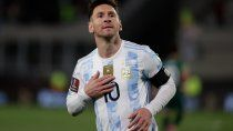 argentina le gano a bolivia con hat-trick de messi y un nuevo record
