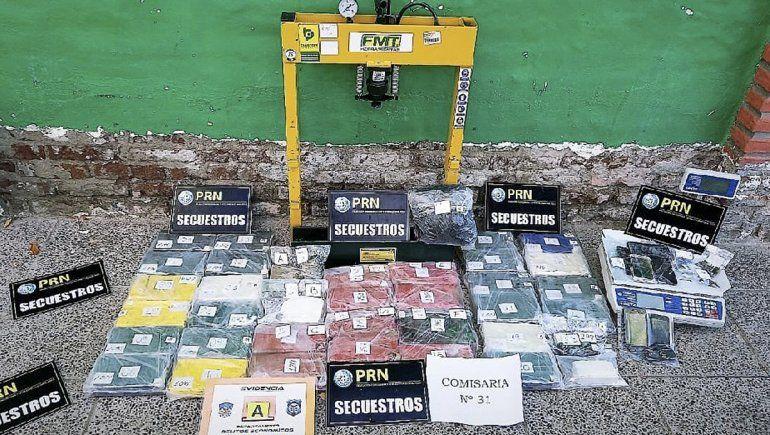Enorme golpe al narcotráfico en el Alto Valle