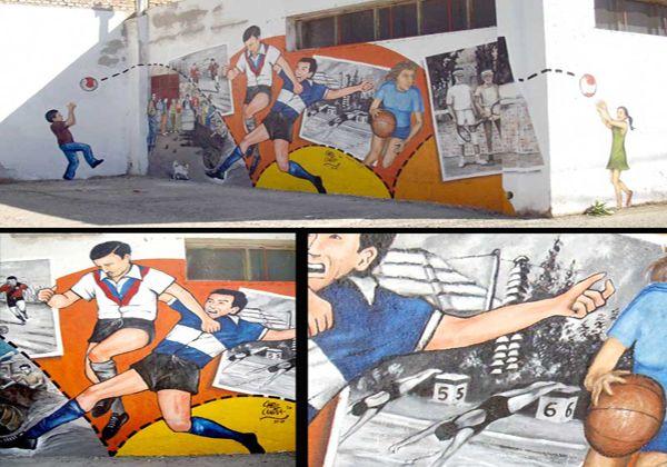 """Nuevo mural de la Galería a """"Cielo abierto"""" en Allen"""