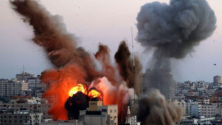Israel golpeó con artillería pesada a Gaza