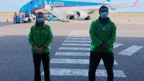 Controlan el ingreso de personas en el aeropuerto de Viedma