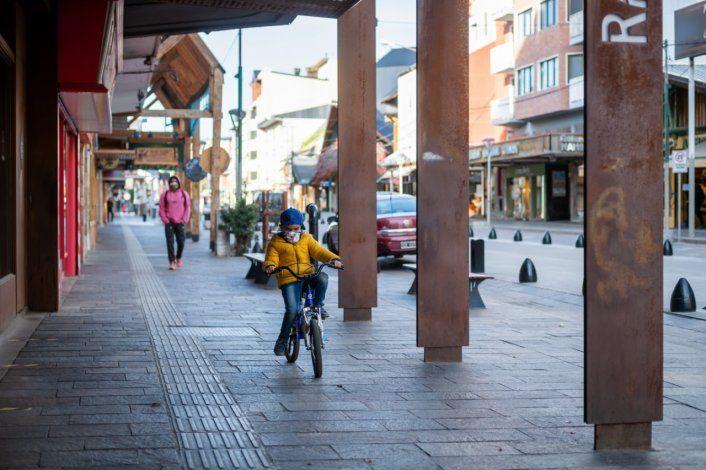 Bariloche no tuvo turistas entre el otoño y la primavera del 2020.
