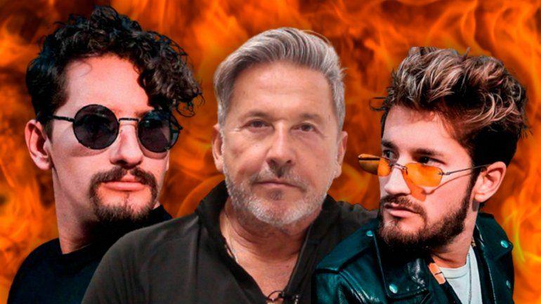 La Voz: Montaner enfurecido con la actitud de Lali, Mau y Ricky