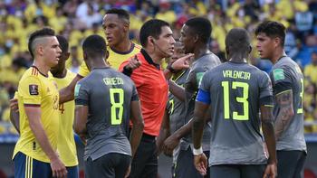 Mina bailó antes de tiempo y el VAR sentenció el 0 a 0 entre Colombia y Perú