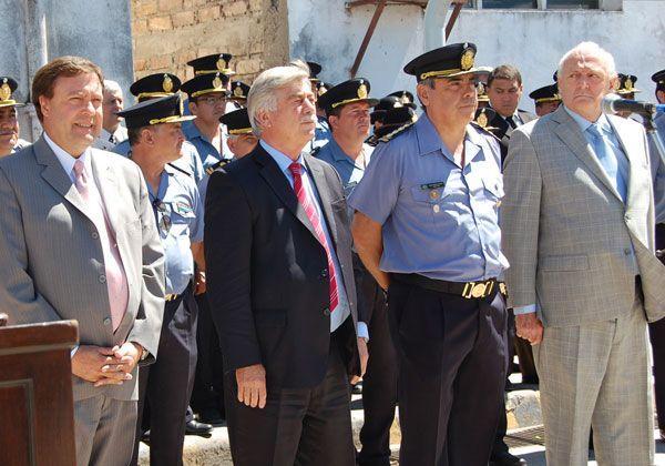 Se renovaron las autoridades de la policía rionegrina