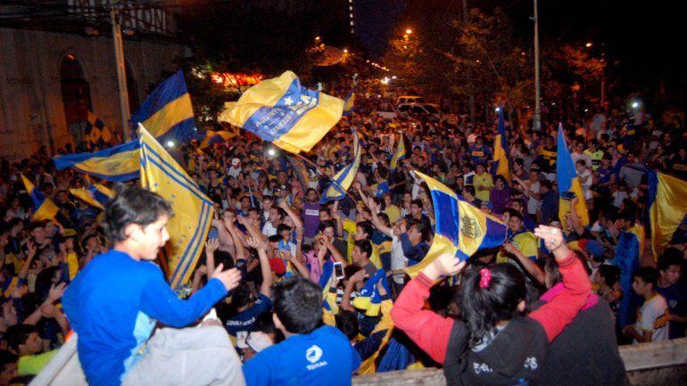 Boca campeón: el festejo de los cipoleños fue en el centro