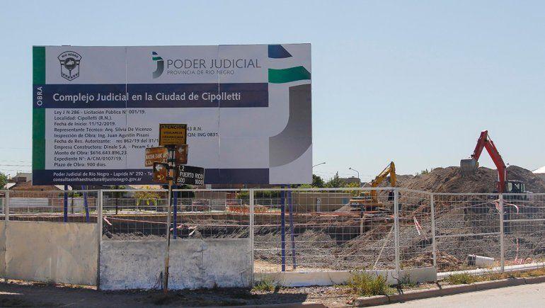 Uocra pide rescindir el contrato por la Ciudad Judicial