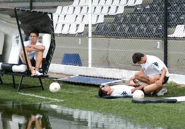 Cipo pisó La Visera, pero no hizo fútbol