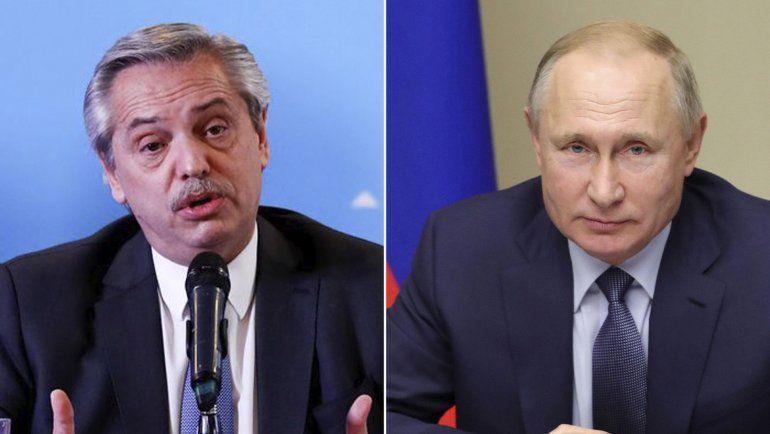 Junto a Putin, Alberto Fernández anunciará la producción de Sputnik V en el país