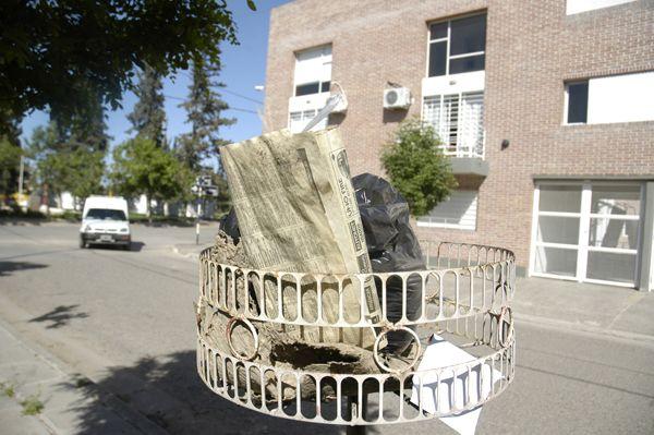 Sin barrido, ni recolección de residuos en Cipolletti