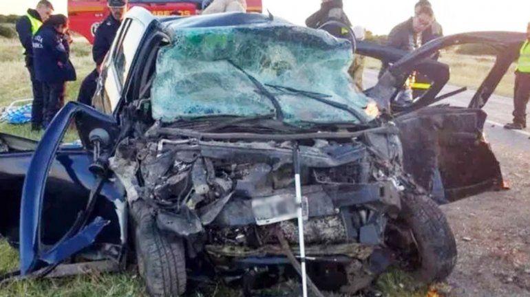 Siete muertos en un choque frontal en el sur bonarense