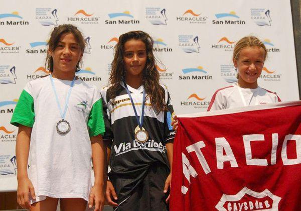 Con 11 años, Lola Cantera es campeona Nacional