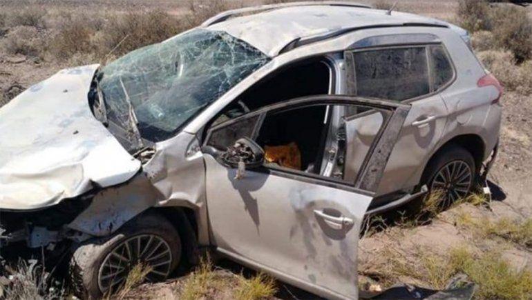 La Ruta 151, otra vez escenario de un impactante accidente