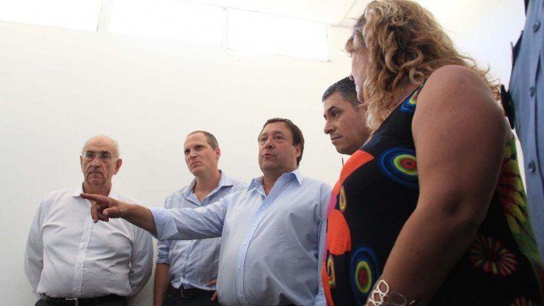 Funcionarios del Gobierno Provincial visitaron Roca y verificaron el nuevo equipamiento.