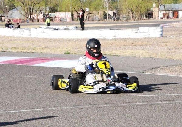Trasarti, segundo en el Pro Kart
